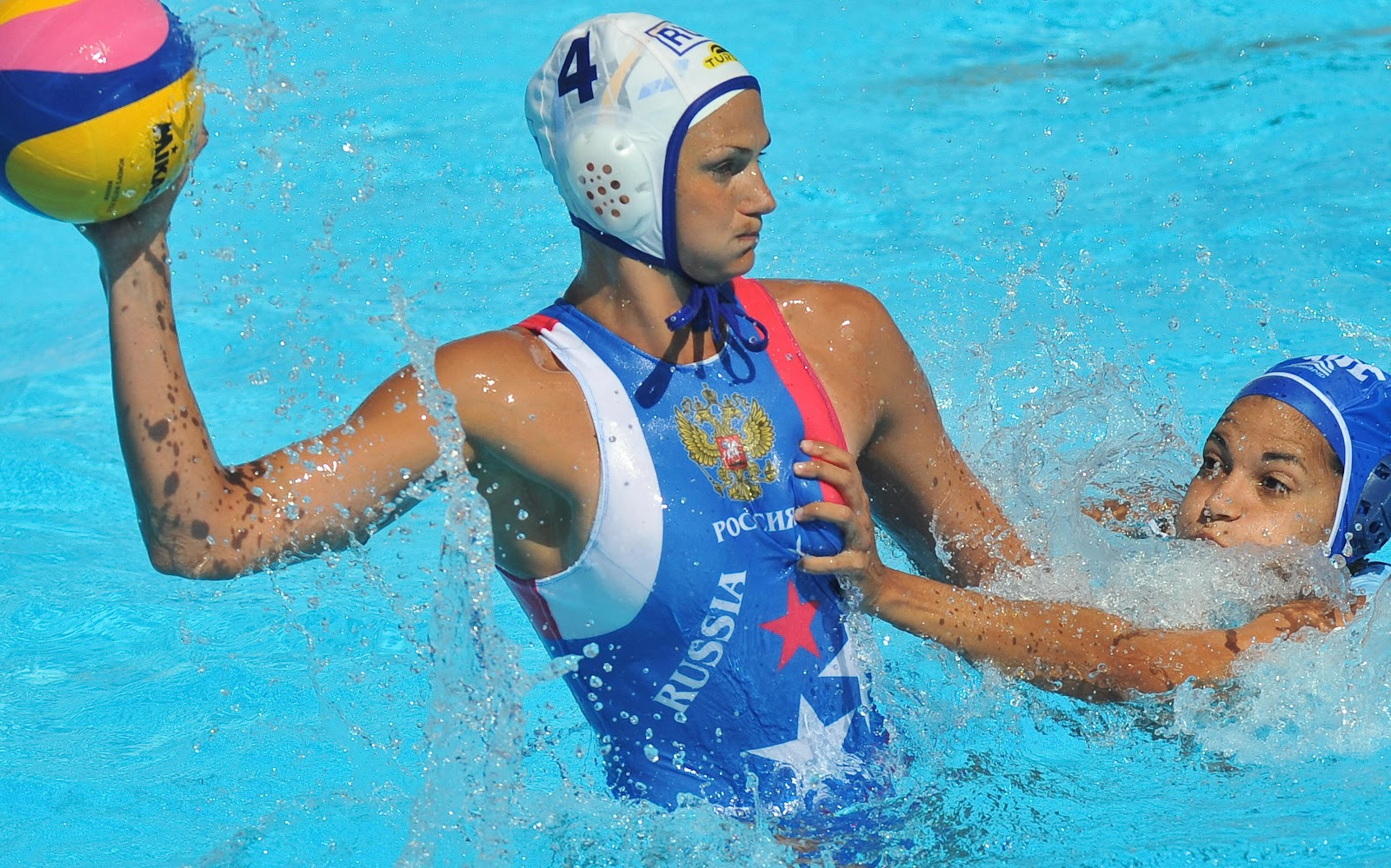 Womens water polo breast